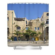 Houses In Jaffa Tel Aviv Israel Shower Curtain