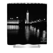 Houses Of Parliament And Big Ben Shower Curtain