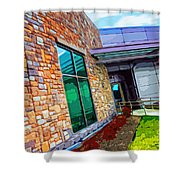 Howard County Library - Miller Branch Shower Curtain