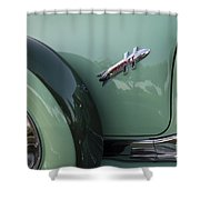 Hudson Hornet Shower Curtain