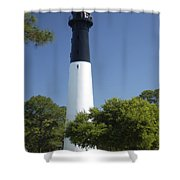 Hunting Island Lighthouse Sc Shower Curtain
