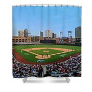 D24w-299 Huntington Park Photo Shower Curtain