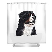 Hurley The Hunk Shower Curtain