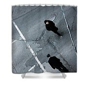 Hurry Henry  Shower Curtain