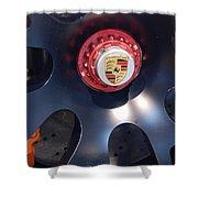 Hybrid Wheel  Shower Curtain
