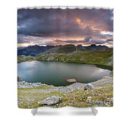 Ibon De Asnos Shower Curtain