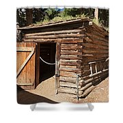 Ice House At The Holzwarth Historic Site Shower Curtain