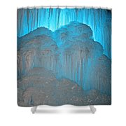 Ice Rising Shower Curtain