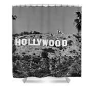 Iconic Hollywood Sign Shower Curtain