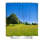 Idyllic Landscape Shower Curtain
