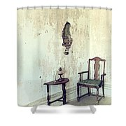 If Walls Could Talk Shower Curtain
