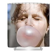 Impending Boom Shower Curtain