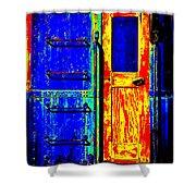 Impressionistic Photo Paint Gs 017 Shower Curtain