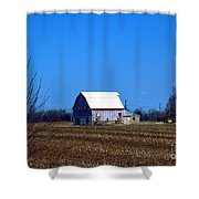 In The Heartland Shower Curtain