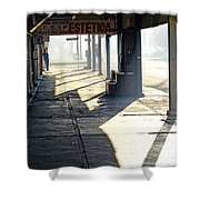 In The Shadows Of Mexicali Shower Curtain