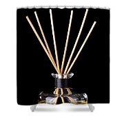 Incense Sticks Shower Curtain