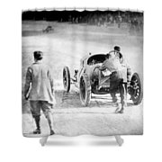 Indianapolis 500, 1912 Shower Curtain