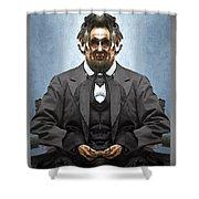 Inner Lincoln Shower Curtain