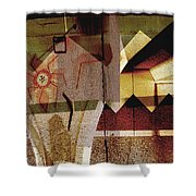 Interstate 10- Exit 259a- 29th St / Silverlake Rd Underpass- Rectangle Remix Shower Curtain
