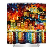 Inviting Harbor Shower Curtain