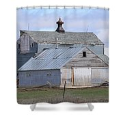 Iowa Barn Shower Curtain
