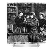 Ireland: Vaccination, 1880 Shower Curtain