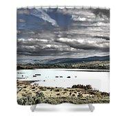 Irish Landscape Shower Curtain