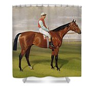 Isinglass Winner Of The 1893 Derby Shower Curtain
