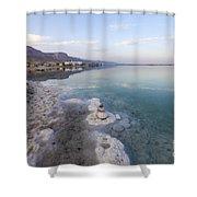 Israel Dead Sea Shower Curtain