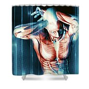 It Hurts Shower Curtain