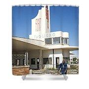Italian Colonial Architecture In Asmara Eritrea Shower Curtain