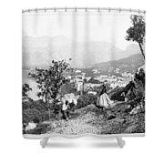 Italy Sorrento, C1869 Shower Curtain