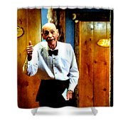 I've Heard About You Shower Curtain