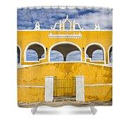 Izamal Convent Shower Curtain