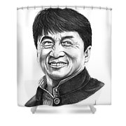 Jackie Chan Shower Curtain