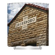 Jacksboro Texas Shower Curtain