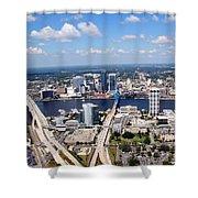 Jacksonville Florida Shower Curtain