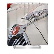 Jaguar Emblem Shower Curtain