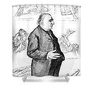 Jean Martin Charcot Shower Curtain