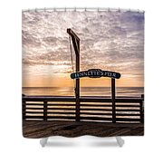 Jeanette's Pier  Shower Curtain