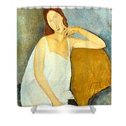 Jeanne Hebuterne Shower Curtain