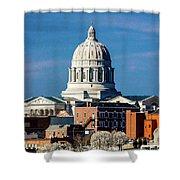 Jefferson City - Missouri - Missouri Shower Curtain