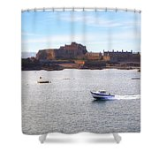Jersey - Elizabeth Castle Shower Curtain