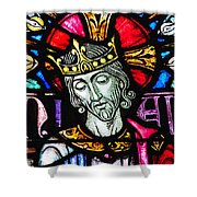 Jesus The King Shower Curtain