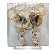 Jewelry Shower Curtain