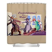 The Matchmaker Shower Curtain