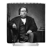 John Bright (1811-1889) Shower Curtain