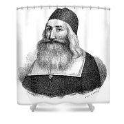 John Clark (1598-1664) Shower Curtain