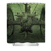 John Deere Shower Curtain