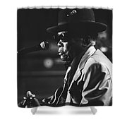 John Lee Hooker Shower Curtain